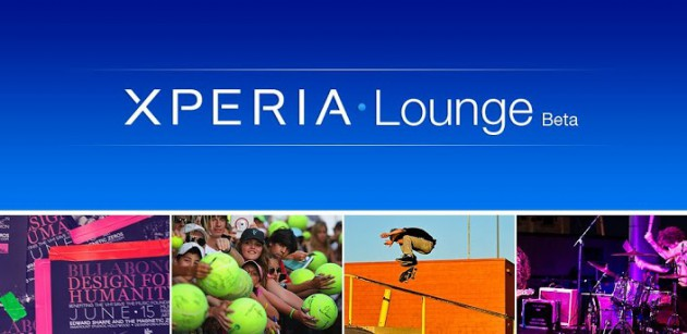 Sony launches Xperia Lounge Beta for accessing unique entertainment experiences