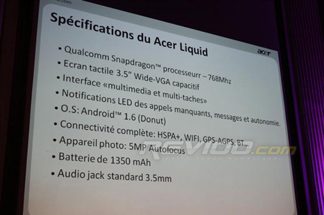 Acer Liquid 768mhz