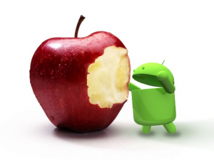 Android takes bite out of Apple