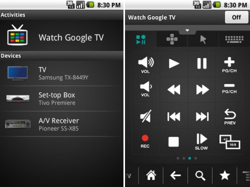 Logitech Harmony Remote App for Android