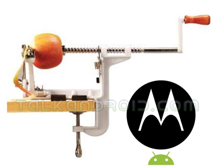 Motorola wants to peel Apple's products
