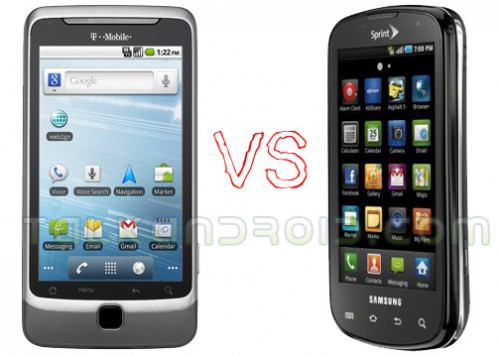 Epic 4G vs G2