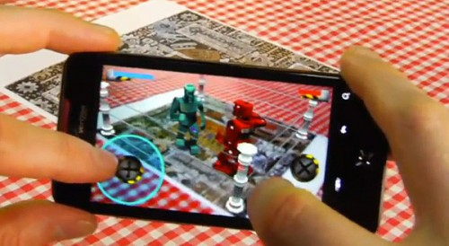 Qualcomm Augmented Reality - Rock 'Em Sock 'Em Robots