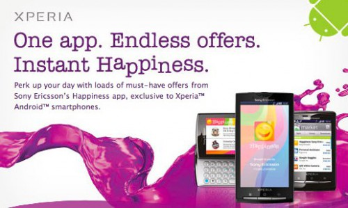 Sony Happiness App