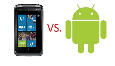 wp7 vs android
