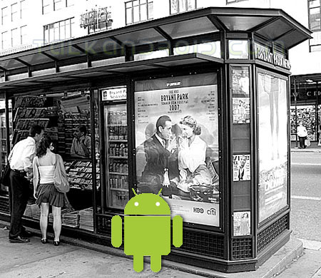 Android newstand