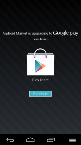 how to get play store update