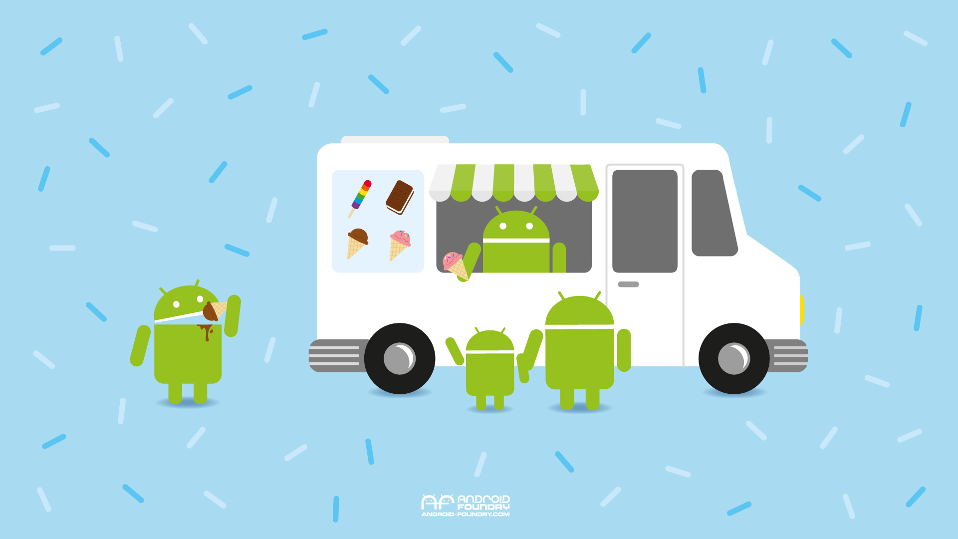 Android_National_Ice_Cream_Month_wallpaper