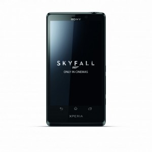 have sony xperia t james bond theme made