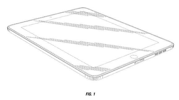 Apple rounded corner patent-D670.286