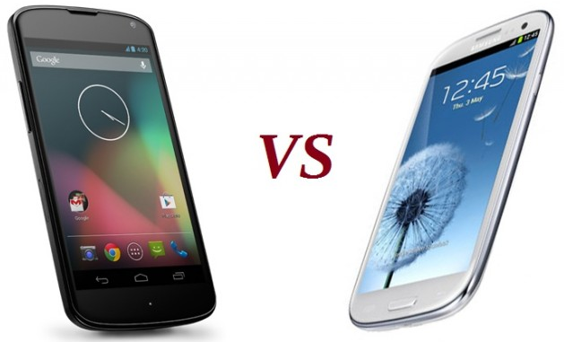LG-Google-Nexus-4-and-Samsung-Galaxy-S3
