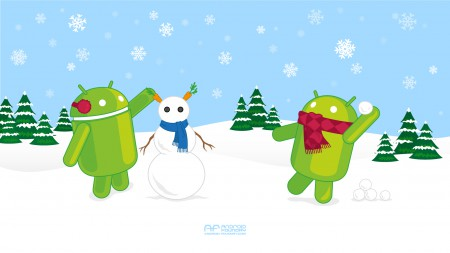 Android_Foundry_Snowman_Wallpaper