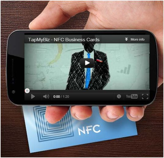 NFC Business cards from TapMyBiz are high quality and