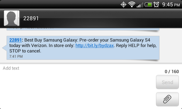 Best_Buy_Text_Message_Galaxy_S_4_Pre-orders