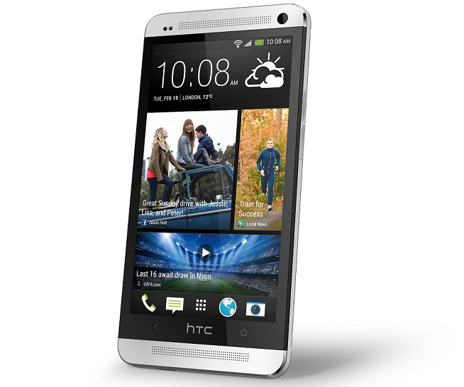 HTC One_Silver