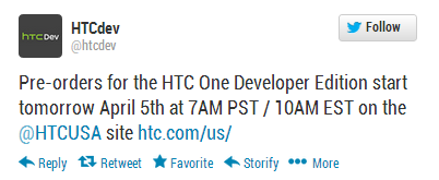 htc_one_dev_edition_tweet