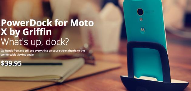 MotoXDeskDock