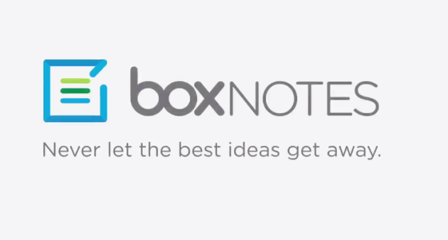 Box-Notes-service