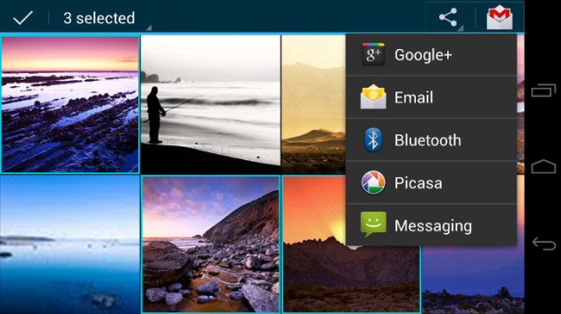 Android ICS Gallery
