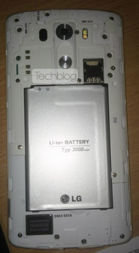 LG G3 removable back