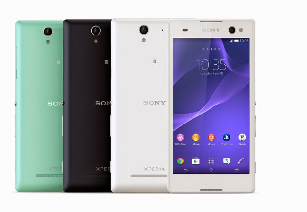Sony_Xperia_C3_Group_Colors_Front