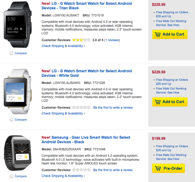 best_buy_samsung_gear_live_lg_g_watch_available