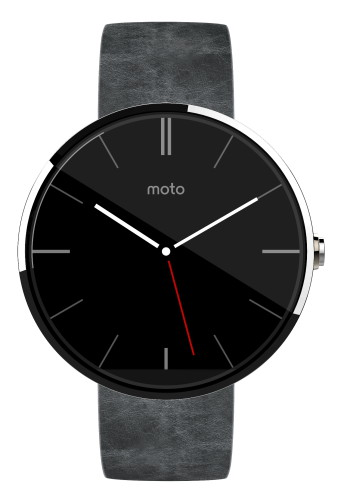 Moto 360 Front Gray