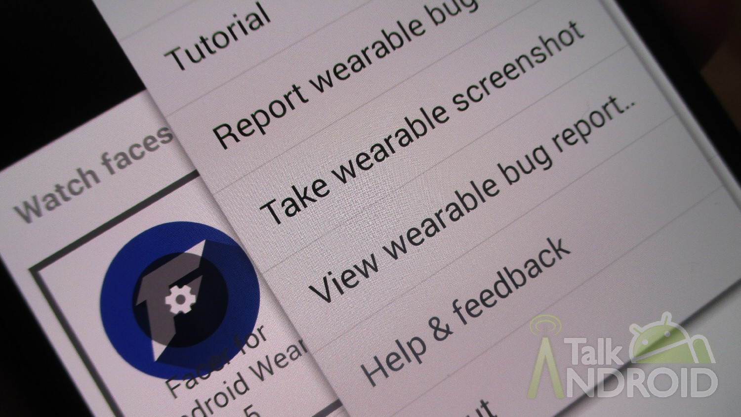 How to take a screenshot from your Android Wear smartwatch