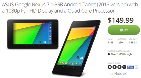 groupon nexus 7 deal
