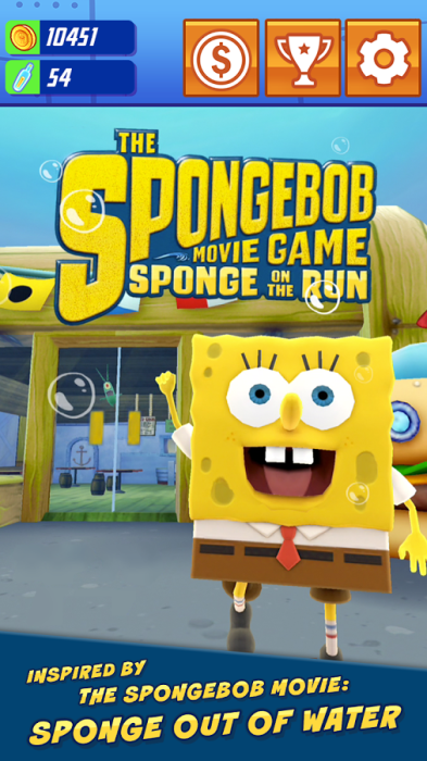 Sponge on the Run: Nickelodeon releases game on Play Store ...