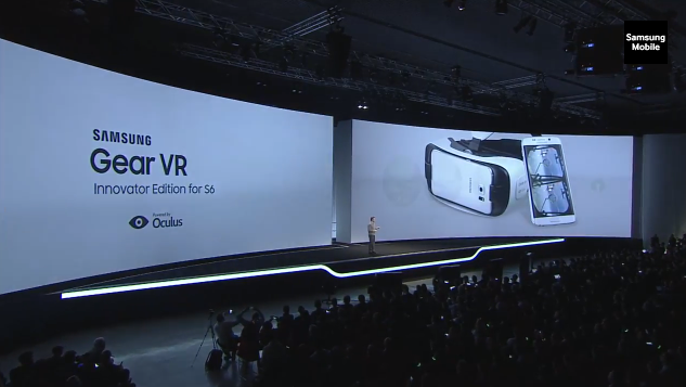 Samsung Gear VR for Galaxy S 6 and Galaxy S 6 Edge ...