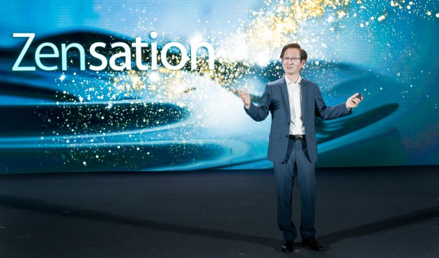 ASUS Chairman Jonney Shih announces latest innovations at Zensation press event in T