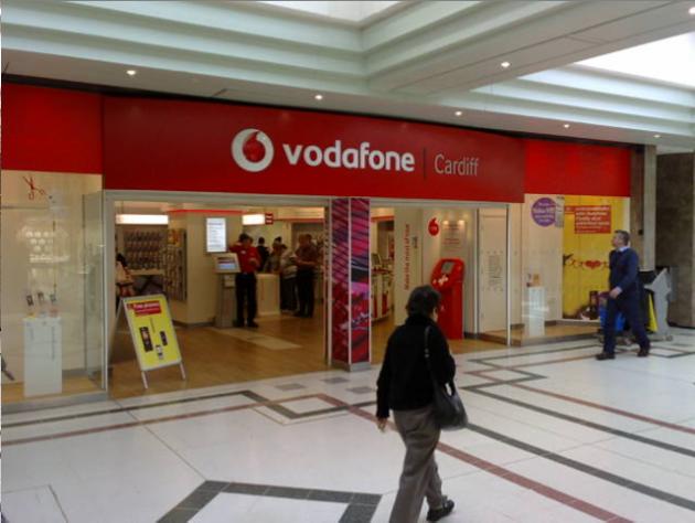 Vodafone retail shop