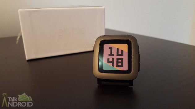 pebble time gray TA