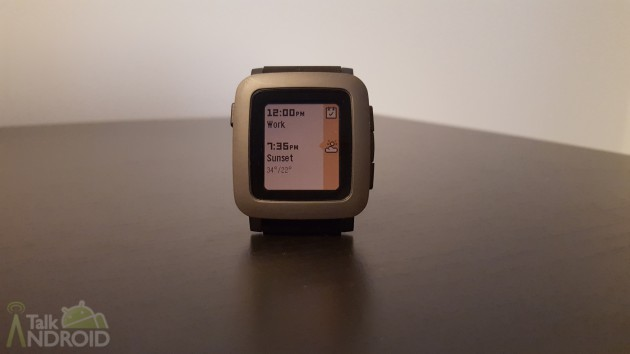 Pebble time timeline past TA