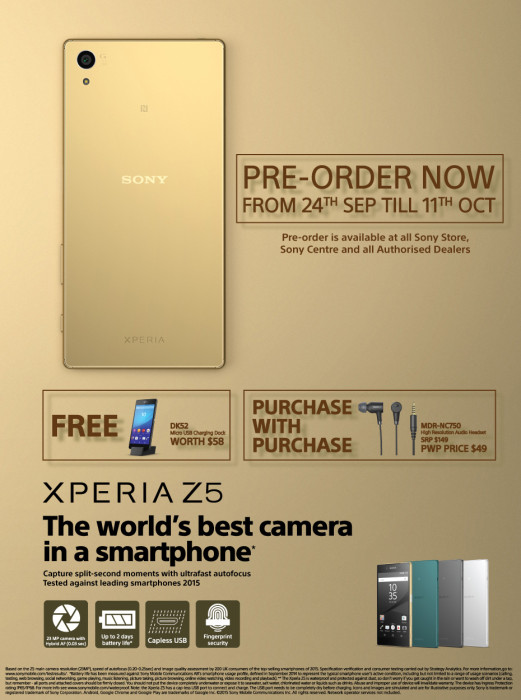 Androidsmartphones_Sony_xperia_z5_preorder_singapore_infographic_092715