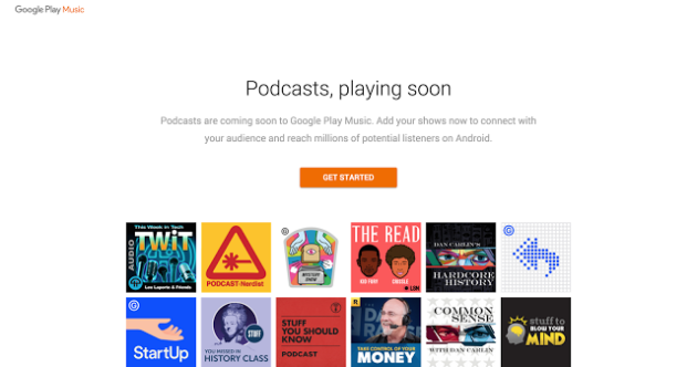 google play music podcasts