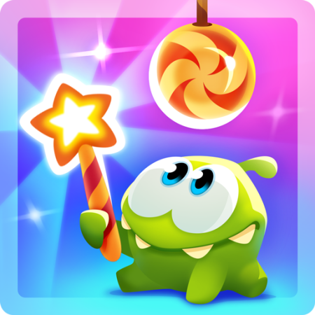 Cut the rope magic out now packed with enchanting Majic app