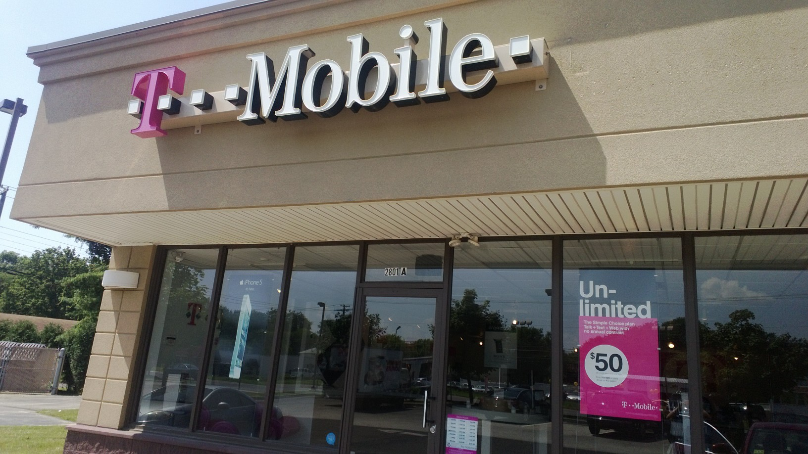 For the easiest trade-in experience, we encourage you to go to one of our T-Mobile stores to trade your old device in for a new one. Trade in with My T-Mobile If you can't get to a store, you can use our online program to trade in your device.