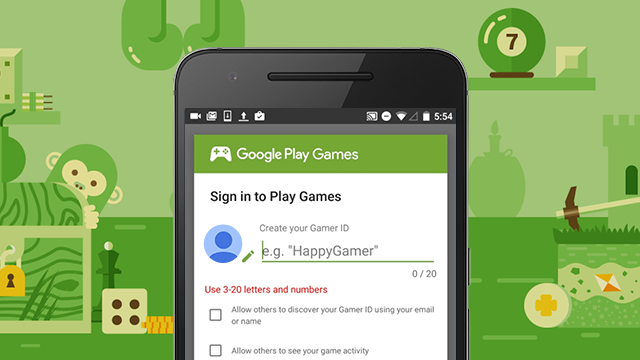 Google talk sign up google play games gamer id sign in sign up