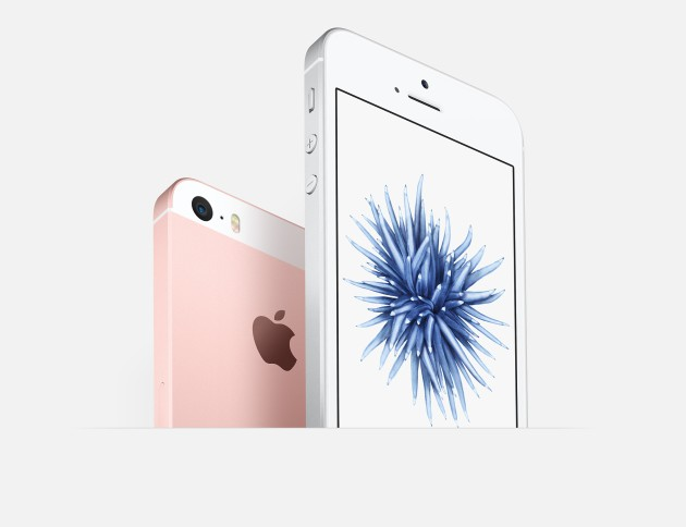 iphone SE rose silver