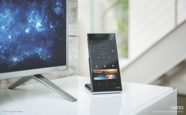 vizio_smartcast_p-series_tablet_charging_next_to_tv
