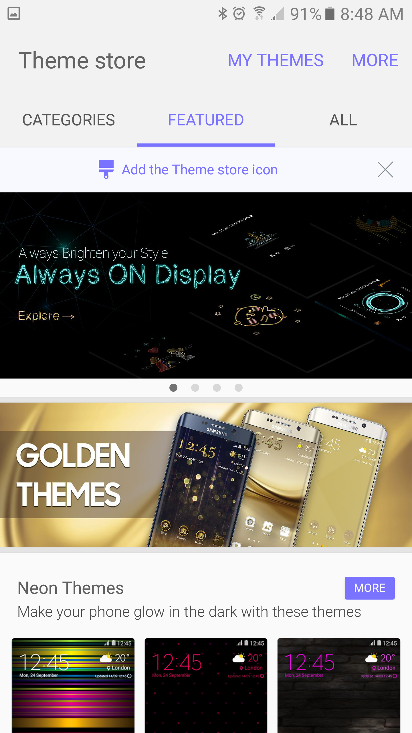 How To Use Themes On The Galaxy S7 And S7 Edge How To Clear App Cache