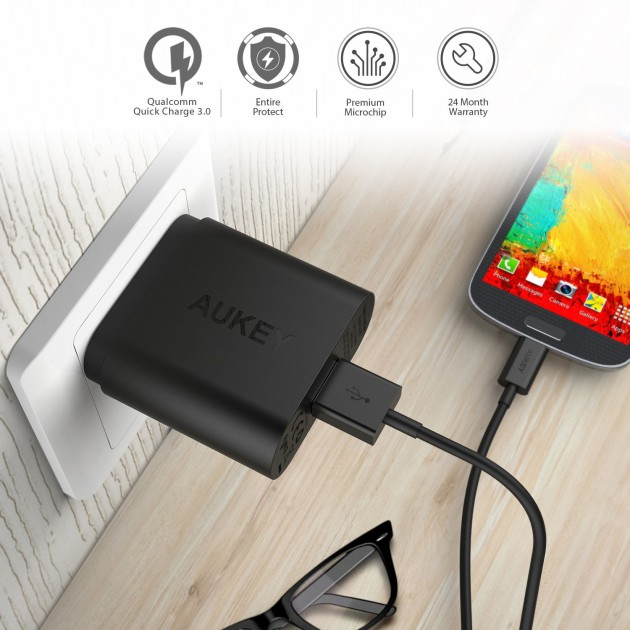 aukey_qc3_wall_charger