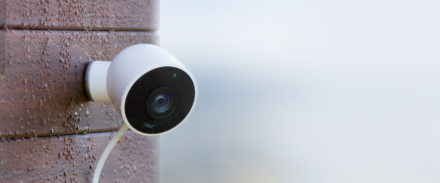 nest announces its first outdoor friendly security camera. Black Bedroom Furniture Sets. Home Design Ideas