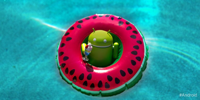 android_in_watermelon_pool_toy