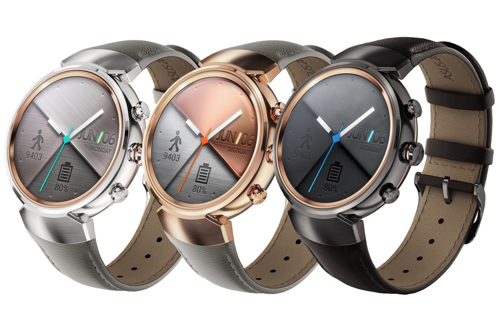 ASUS ZenWatch 3 is official at IFA 2016 in three new ...