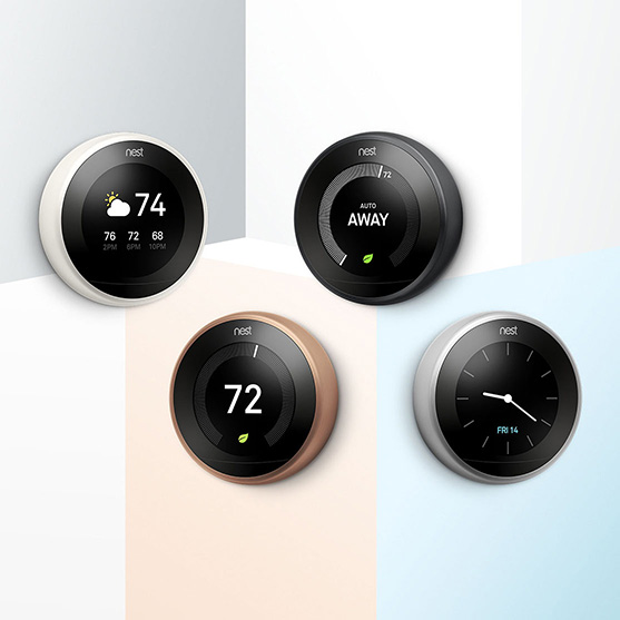 nest color thermostat
