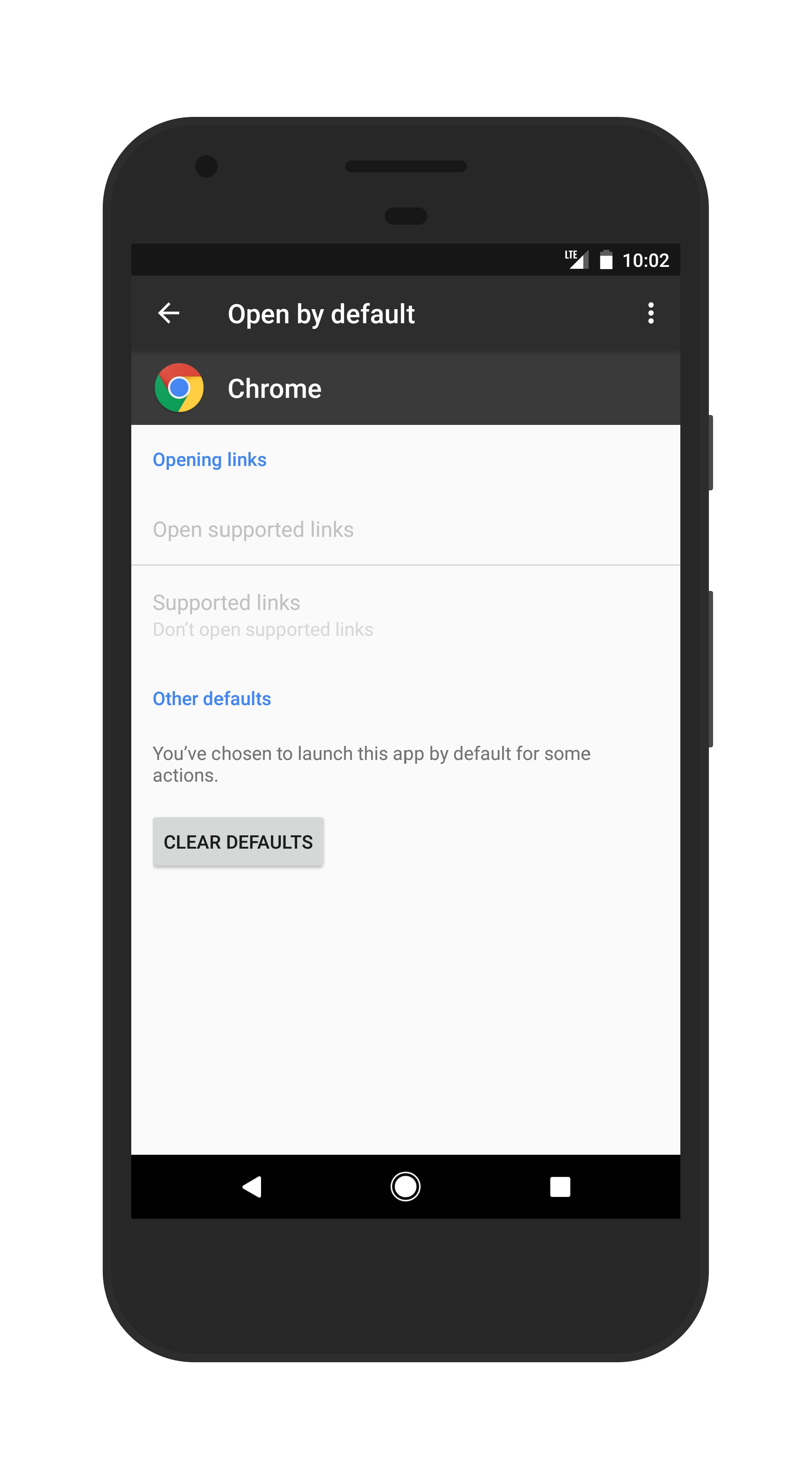 Camera Clear Browser On Android Phone how to change or clear default app settings in android apps defaults