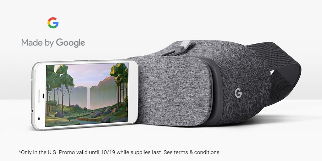 Google's Daydream View: It's All About the Controller